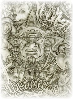 lowrider arte drawings | lowrider art magazine in lowrider arte by TAttoos by kIntoz BRIcksquad ...
