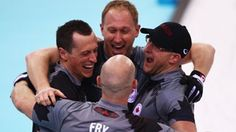 Canada's golden stone in men's curling