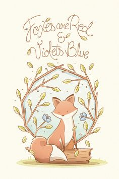 Foxes are Red 3/3 on Behance