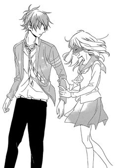 Image via We Heart It https://weheartit.com/entry/87416004/via/20496844 #anime #boy #cute #girl #kawaii #love #manga #romance