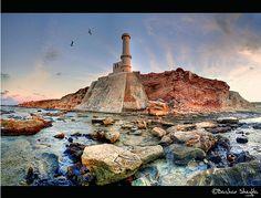 By : Bashar Shglila  Lighthouse in   Tripoli , Libya