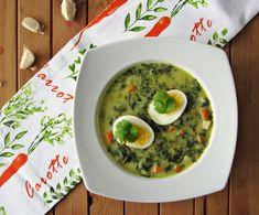 zupa szpinakowa Palak Paneer, Guacamole, Paleo, Good Food, Food And Drink, Cooking, Ethnic Recipes, Kitchen, Beach Wrap