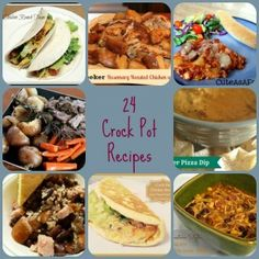 24 Awesome Crock Pot Recipes