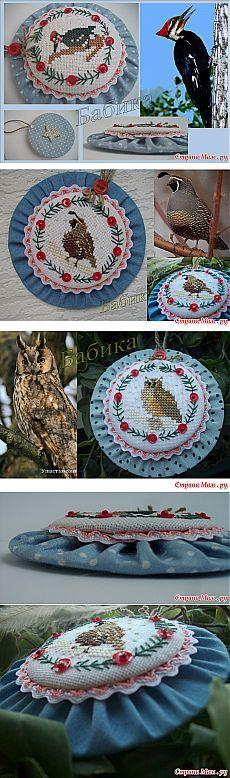 """Три рождественских пинкипа """"Woodland Birdies"""": Дневник группы """"Бискорню и другие """"кривульки"""""""" - Страна Мам"""