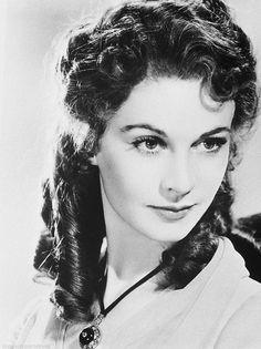 "Vivien Leigh. Рекламное фото для ""Леди Гамильтон"", 1941"