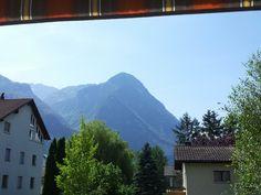 Mittag in Liechtenstein vom Balkon