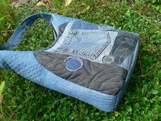 džínová patchworková taška / Zboží prodejce imodes | Fler.cz Gym Bag, Bags, Scrappy Quilts, Handbags, Bag, Totes, Hand Bags