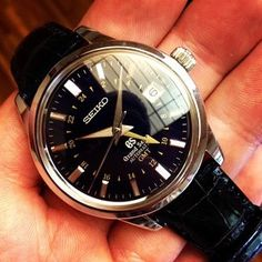 No collection is complete without at least one Grand Seiko (SBGM031).