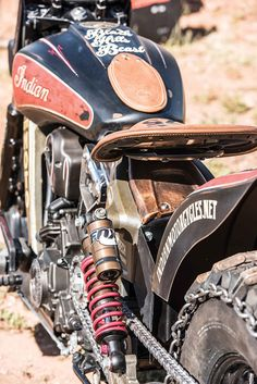 INDIAN SCOUT HILL-CLIMBER | MOTORCYCLIST