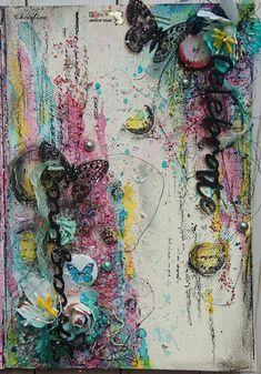 Mixed media Art Journal by Christina