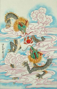 Chinese Celestial Dragons