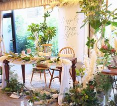 Wedding Decorations, Table Decorations, Diy And Crafts, Yuki, Green, Instagram, Furniture, Home Decor, Image