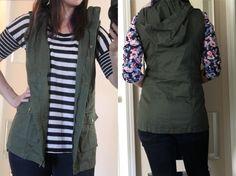 September 2015 Stitch Fix #11 - Army Vest