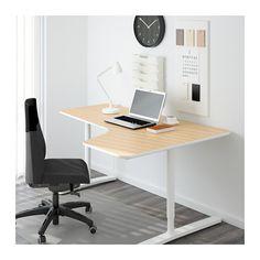 "BEKANT Corner desk-right - birch veneer/white, 63x43 1/4 "" - IKEA"