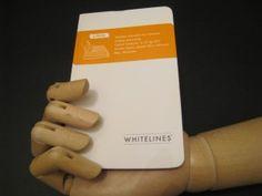 Whitelines Pocket Lined Notebook