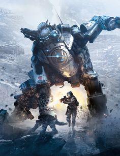Titanfall: Titan Art v.01