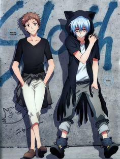 Servamp | Shirota Mahiru & Kuro(Sleepy Ash)