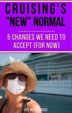 """As cruises have started to resume in Europe, and cruises will start soon in the USA, there are some changes to cruising and some new rules to follow. While this """"new normal"""" may not be ideal, this is what we can expect for the next few months on all major cruise lines. Here's the info you need. #cruise #cruisetips #cruising Packing List For Cruise, Cruise Europe, Cruise Port, Cruise Ships, Cruise Travel, Cruise Vacation, Disney Cruise, American Cruises, Cruise Destinations"""