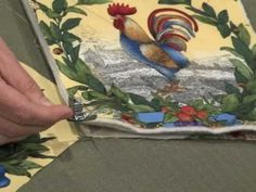 how to make pot holders...