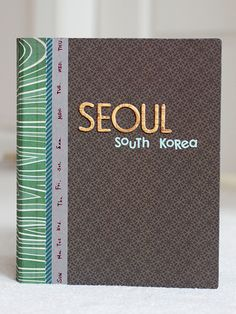 In a Creative Bubble: Seoul Travel Mini-book