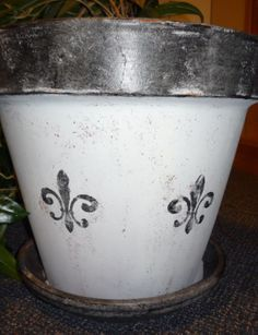 old fashioned fleur de lis canisters - Google Search