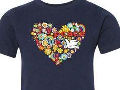 Love, Joy, Peace t-shirt - Bringing Isabelle Dove Home!  (Adoption fundraiser shirtI)