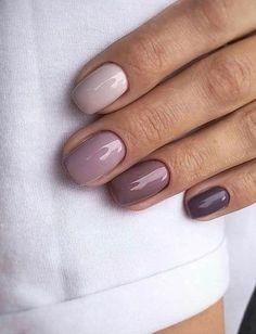 nails french tip - nails french tip . nails french tip color . nails french tip with design . nails french tip glitter . nails french tip ombre . nails french tip acrylic . nails french tip coffin . nails french tip short Purple Ombre Nails, Gradient Nails, Acrylic Nails, Coffin Nails, Glitter Nails, Pastel Pink Nails, Plum Nails, Pastel Nail Art, Galaxy Nails