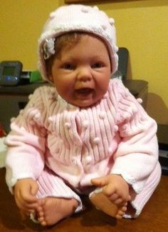 Reborn Baby Doll by Reva Schick-Oct. Birthstone Babies Series