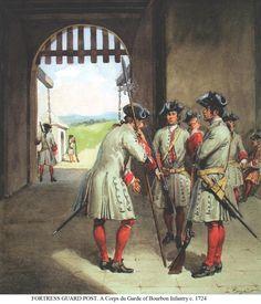 French Infantry 1724