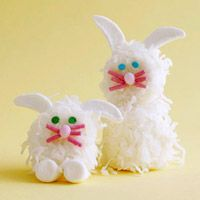 Cute bunny shape Easter treats
