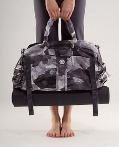 Ok, the cost is a bit steep...but it's Lululemon! And it'd hold my yoga mat! Perfection.