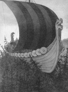 Theodor Kittelsen - Askeladden og de gode hjelperne