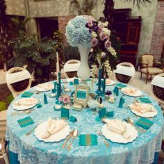 Precious Turquoise - an eclectic wedding collection, combining antique… Eclectic Wedding, Wedding Decorations, Table Decorations, Event Design, Wedding Designs, Hand Painted, Turquoise, Luxury, Antiques