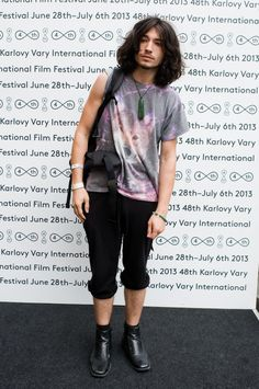 Ezra at the Karlovy Vary International Film Festival today. Source: http://www.kviff.com