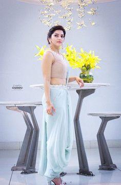 Mehreen Kaur Indian Actress Photos, Indian Actresses, Most Beautiful Indian Actress, Beautiful Actresses, Senior Girl Poses, Actress Wallpaper, Ebony Women, Half Saree, India Beauty