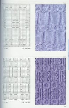 Kira knitting: Knitted pattern no. Cable Knitting Patterns, Knitting Stiches, Knitting Books, Knitting Charts, Lace Knitting, Knitting Designs, Knit Patterns, Stitch Patterns, How To Purl Knit