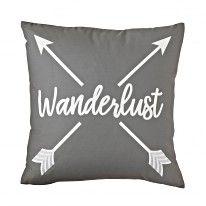 Wanderlust Decorative Pillow