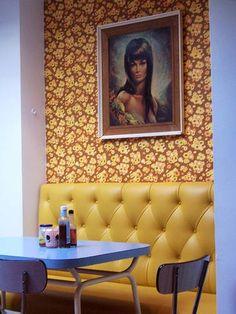 Tic Toc Cafe Retro design Brighton