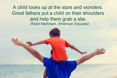 MiracleCord congratulates all great fathers who help their children reach the stars. www.miraclecord.com #fathersday #grabthestars