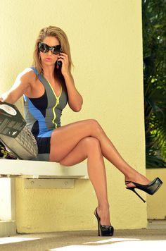 Jennifer Nicole Lee fantastic great looking crossed legs
