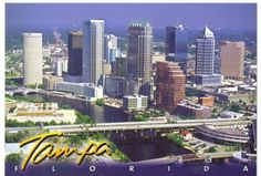 tampa florida | we are in tampa florida i m sending this postcard there tourist ...