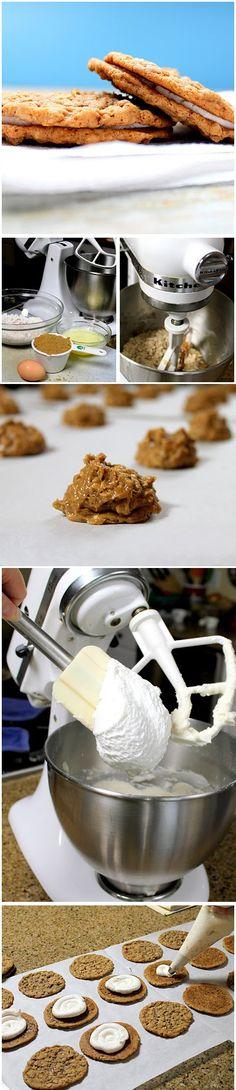 Homemade Oatmeal Cream Pie Cookies Recipe