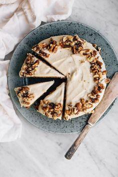 Sweet Potato Cake w/ Cashew Cream (GF Sweet Potato Cake with Cashew Cream Frosting (GF) Vegan Gingerbread, Gingerbread Cake, Baking Recipes, Dessert Recipes, Snack Platter, Chocolate Mud Cake, Brunch, Gateaux Cake, Cashew Cream