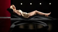 Carved out from a single block of Finest black Marble. A Luxurious Infrared Heated Loungers Designed for high-end SPas, now fitted for your Living-Room/Spa -at-Home Concept. Steam Bath, Relaxation Room, Black Marble, Hotel Spa, Cleopatra, Spas, Luxury, Wellness, Concept