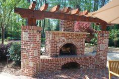 Открытый камин и яма пожара Строительный Атланта, штат Джорджия |. Вне ландшафтного Group, LLC