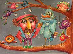 InteriARTS : Lifebook 6 Quirky Birds II