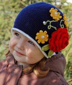 15  Chapeaux au Crochet pour les Enfants