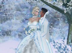 """Winter Wedding"" Captured Inside IMVU - Join the Fun!"
