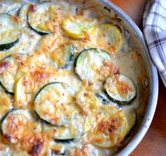 This recipe will bring out a passion for zucchini and squash that you never knew you had!  It is amazing what happens to a veggie after you bake in a bath of cream and cheese.  Oh yeah don't forget to give credit to the garlic! As if that isn't enough there is a blanket of... Read More »