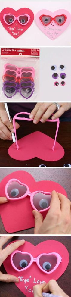 Eye Love You | DIY Valentines Crafts for Kids to Make | Easy Valentines Day Activities for Classroom